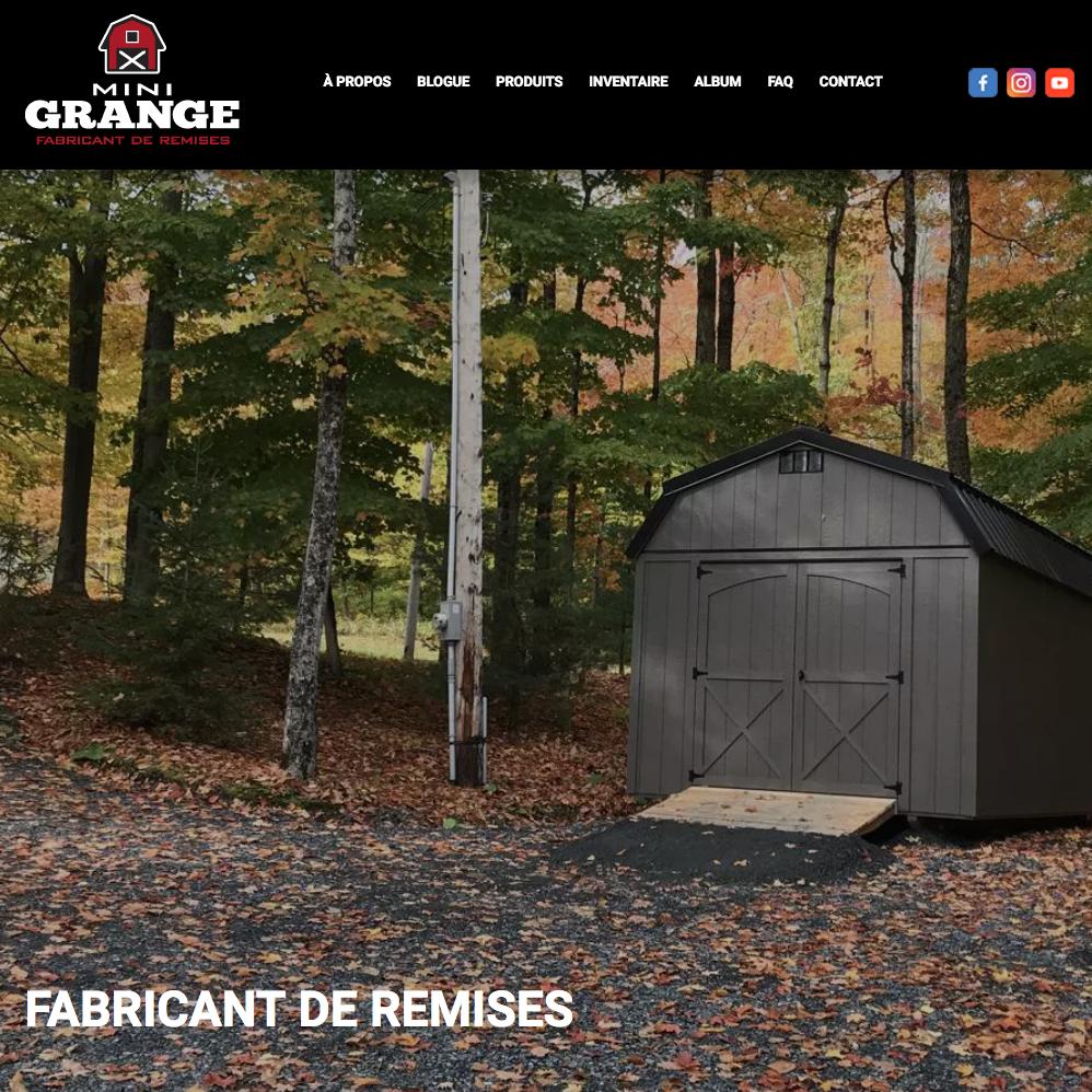 Site web Mini-Grange