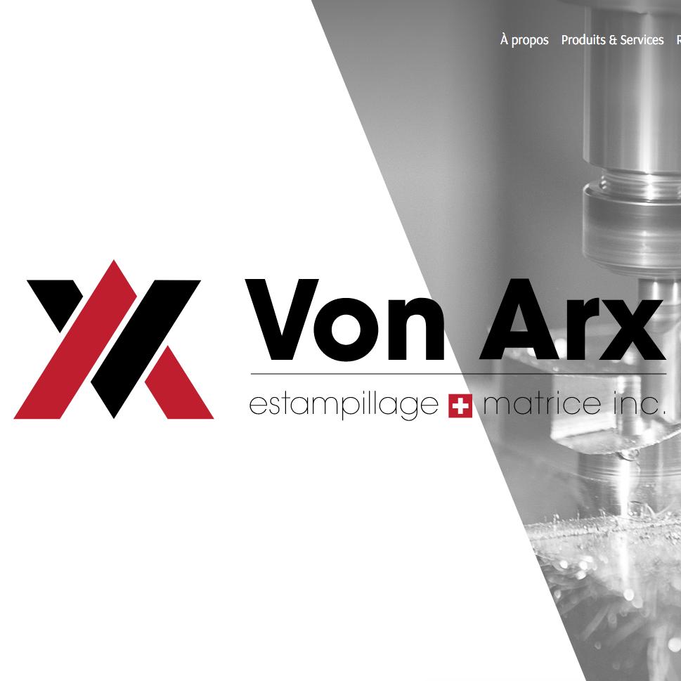 Site web Von Arx inc.